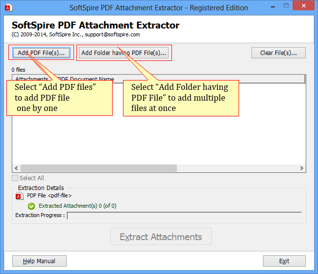 PDF Attachment Extractor