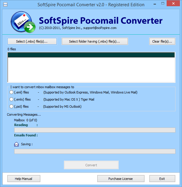 Convert Emails from Pocomail to Outlook 1.2.1